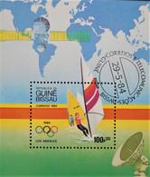 JEUX OLYMPIQUES DE LOS ANGELES 194 - OBLITERE - MI BL 260 - Guinea-Bissau