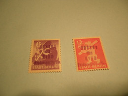 Lokalpost, Fredersdorf, Michel Nr. 69-70, Postfrisch Mit Falz , Selten Im Angebot , Siehe Poto - Soviet Zone