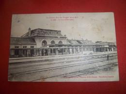 7adt - CPA - SAINT DIE - La Gare - [88] - Vosges - - Saint Die