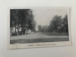 Carte Postale Ancienne  SOIGNIES  Collège St-Vincent : Cour Et Bosquet - Soignies