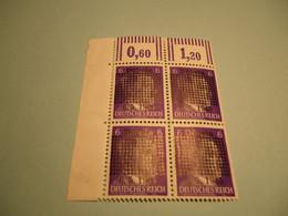 Lokalpost, Döbeln, Michel Nr. 1b Im Eckrandviererblock, Postfrisch Mit Falzresten Am Bogenrand, Siehe Potos - Soviet Zone