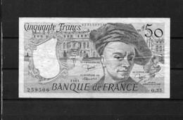 Billet 50 Francs Quentin De La Tour - 50 F 1976-1992 ''Quentin De La Tour''