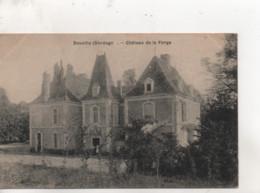 CPA.24.Douville.Château De La Forge. - Otros Municipios