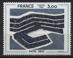 Timbre France Neuf De 1980 YT  N°2075 Raoul Ubac - Nuevos