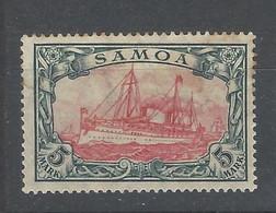 Germania - Colonie - Samoa - 1919 - Nuovo/new MH - Mi N. 23 II - Kolonie: Samoa