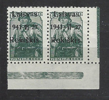 Germania - Occupazioni - Lituania - 1941 - Nuovo/new MNH - Overprint Rokiskis - Mi N. 3 - Litouwen