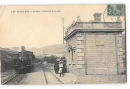 CPA 69 Les Ardillats La Gare Et Le Train Tramway - Altri Comuni