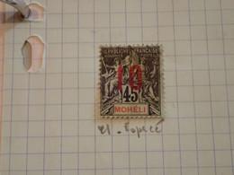 . 156.  LARGE COLLECTION. MOHELI . USED.  START. DEPART 1€ - Verzamelingen (in Albums)