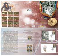 ITALIA : Pietro MENNEA  - 40° Anniversario  Oro Olimpiadi Di Mosca - 9.11.2020 - Geschenkheftchen