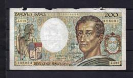 Billet 200 Francs Montesquieu - 200 F 1981-1994 ''Montesquieu''