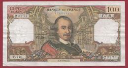 """100 Francs """"Corneille"""" Du 03/05/1973.O -----ALPH .F.718---dans L 'état - 100 F 1964-1979 ''Corneille''"""