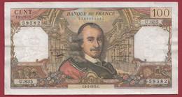 """100 Francs """"Corneille"""" Du 06/02/1975.C -----ALPH .U.835---dans L 'état - 100 F 1964-1979 ''Corneille''"""