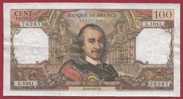 """100 Francs """"Corneille"""" Du 04/02/1977.R -----ALPH .L.1041---dans L 'état - 100 F 1964-1979 ''Corneille''"""
