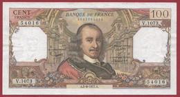 """100 Francs """"Corneille"""" Du 02/06/1977.A -----ALPH .V.1073---dans L 'état - 100 F 1964-1979 ''Corneille''"""