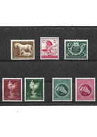65-3  Allemagne III REICH LOT De 7 Timbres Année 1944 YT 821-822-823-784-815-812-813 Neuf ** - Nuovi