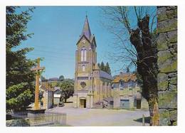 46 LATRONQUIERE N°1168 L'Eglise Crucifix Croix Renault 4L Camionnette Porte Ouverte Bouteilles De Gaz VOIR DOS - Latronquiere