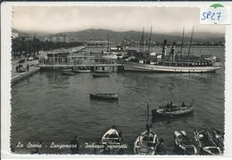 LA SPEZIA- IMBARCO VAPORETTI - La Spezia
