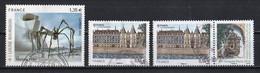 France 2010 : Timbres Yvert & Tellier N° 4492 - 4494 - 4494 + Vignette - 4495 - 4503 - 4504 - 4505 - 4507 - 4508 Et 4513 - Gebruikt