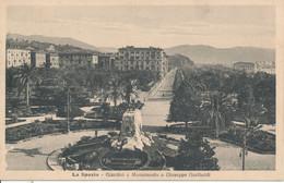 LA SPEZIA- GIARDINI E MONUMENTO A G. GARIBALDI - La Spezia