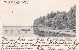 4836  3  Gruss Aus Werro, Seeufer 1899 - Estonie