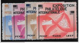 France Vignettes - Pexip 1937 - Neuf * Avec Charnière - TB - Philatelic Fairs