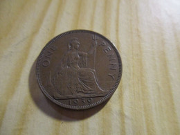 Grande-Bretagne - One Penny George VI 1939.N°1312. - D. 1 Penny