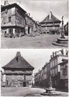 46. Gf. SAINT-CERE. Place Du Mercadial. 2 Cartes N° 18 & 2032 - Saint-Céré