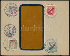 1919 Boríték 4 Db Pártosfalva Bélyeggel Radkersburgba, Rendkívüli Ritkaság! Certificate: Flasch - Non Classificati