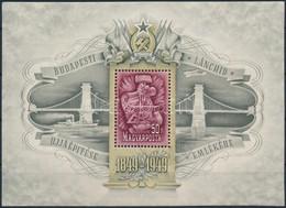 ** 1949 Lánchíd III. Blokk (90.000) - Non Classificati