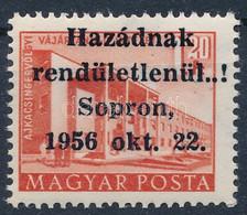 ** 1956 Sopron 1,20Ft Bévi és MEFESZ Vizsgálójellel, Tanúsítvány Nélkül (70.000) - Non Classificati