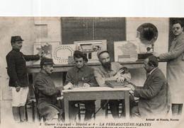Guerre 1914/ 1918.la Persagotière Nantes Hôpital No 6 - Guerra 1914-18