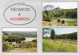 Gourdon - Le Domaine De Loisirs; Les Deux Plans D'eau D'Ecoute Il Pleut - Gourdon