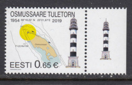 Estland 2019. Osmussaare Lighthouse. MNH. - Estonia