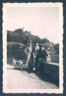 38 CHATONNAY Pont Vers Le Vieux Moulin 1934 Photo 6.5 X 9 Cm - Non Classés
