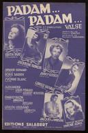 Partition Padam Padam  Édith Piaf éd Salabert 1951 Port Fr ...100g - Scores & Partitions