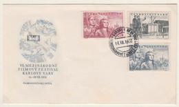 CESKOSLOVENSKO FDC MICHEL 675/77 SOWETISCHE FILM - FDC