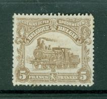 Belgique   TR 77  *  TB - 1915-1921