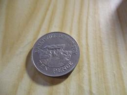 Jersey - 10 Pence Elizabeth II 1987.N°1328. - Jersey