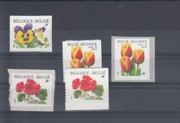 Belgien Michel Cat.No. Mnh/**  Lot Defs Flowers - Ungebraucht