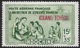 KOUANG TCHEOU   1942   -  PA  1 -   Protection De L'Enfance -  NEUF* - Ungebraucht