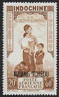 KOUANG TCHEOU   1942   -  PA  2 -  Protection De L'Enfance - NEUF* - Ungebraucht