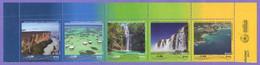 Brazil  2017.  Tourist Places. Tourism. Waterfall. Ship. MNH - Ongebruikt