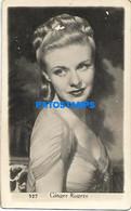 148239 ARTIST GIGER ROGERS US ACTRESS CINEMA MOVIE & DANCER PHOTO NO POSTAL POSTCARD - Entertainers