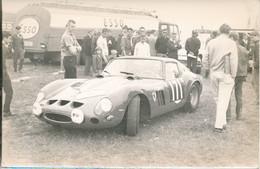 Photo (11 X 18 Cm)  : Beau Plan D'une Ferrari  (BP) - Automobili