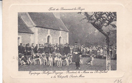 27-FORET DE BEAUMONT LE ROGER EQUIPAGE RALLYE PUISAYE - Beaumont-le-Roger