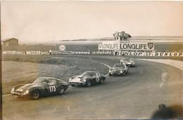 Photo (11 X 18 Cm)  : Beau Plan Course De Voiture Ancienne De Sport (FERRARI) - Tour De France Automobile (BP) - 7 - Automobili