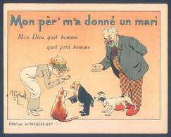 Lot De 6 Chromos H. Gerbault La Mère Michel Cadet Rousselle Margoton  10 X 12.5 Cm - Other