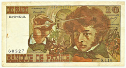FRANCE - 10 Francs - 03.10.1974 - P 150.a - Serie S.104 - Hector Berlioz - 10 F 1972-1978 ''Berlioz''