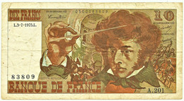 FRANCE - 10 Francs - 03.07.1975 - P 150.b - Serie A.201 - Hector Berlioz - 10 F 1972-1978 ''Berlioz''