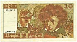 FRANCE - 10 Francs - 06.02.1975 - P 150.b - Serie Q.137 - Hector Berlioz - 10 F 1972-1978 ''Berlioz''
